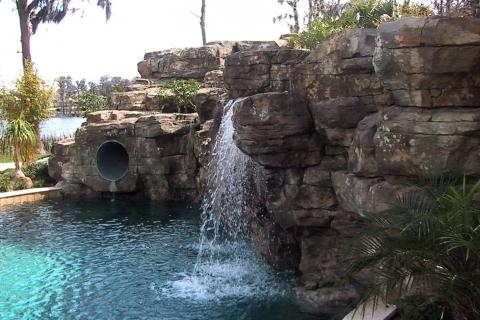 florida-pool-designs Waterfall6